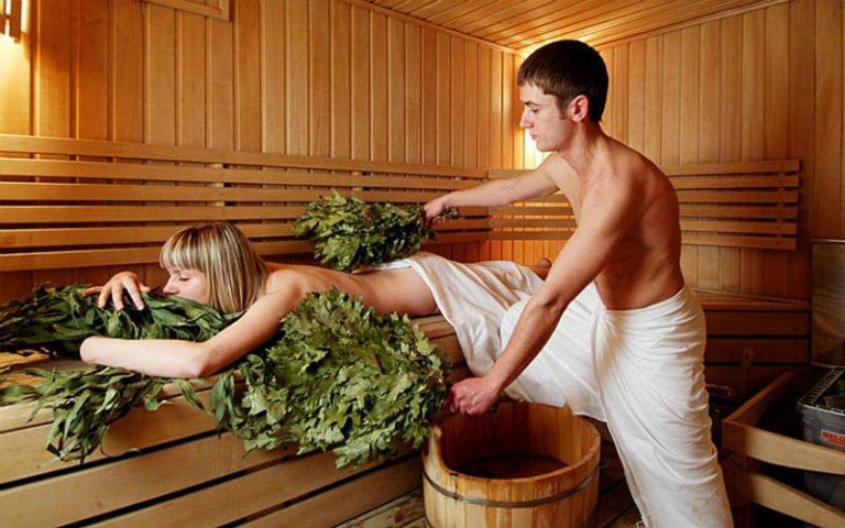Баня русская на дровах – полезный и здоровый отдых